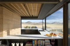 Set on twenty acres in Bellevue, Idaho, Outpost rises from the high desert floor against the backdrop of the Sawtooth Mountains. Designed by Seattle-based architecture firm Olson Kundig Architects, this square foot house has Architecture Awards, Interior Architecture, Interior Design, 1970s Architecture, Landscape Architecture, Interior Ideas, Residential Architect, Architect Design, Scandinavian Style