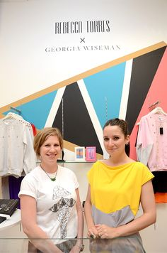 #BringingFashionHome designers @georgiawiseman and @rebeccatorres
