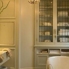 Leaded Glass Cabinets