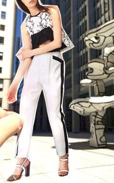 Tanya Taylor Resort 2015 Trunkshow Look 2 on Moda Operandi