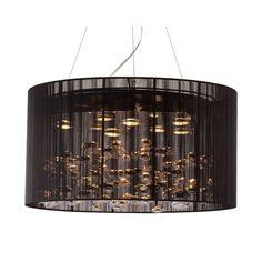 Zuo 50085 Symmetry Ceiling Lamp Black
