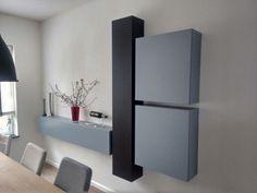 IKEA hack; Lillangen en Besta kasten #furnituredesigns