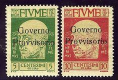 Gov. Prov. 5 e 10 c. sopr. senza trattino di Milano (177/78). AD.