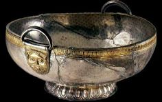 Silver bowl. The Borovo Treasure Thracian culture