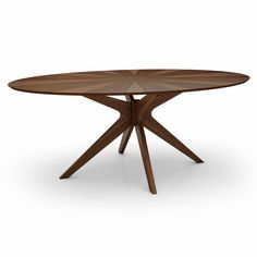 Starburst Oval Dining Table - This is my dining room table Pedestal Dining Table, Solid Wood Dining Table, Extendable Dining Table, Dining Table In Kitchen, Round Dining Table, Dining Room, Dining Chair, Mesa Oval, Contemporary Dining Table
