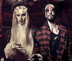 #TwinsKaulitz #Halloween I think they looks scary hottie
