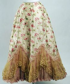 French Silk Petticoat 1895 – 1898