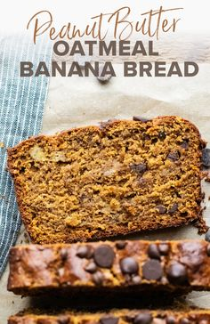 Learn how to make the most scrumptious and healthy banana bread using oat flour! It's super hearty, has a delicious moist texture, and is naturally sweetened using coconut sugar. This oatmeal banana bread is perfect for any occasion and is dairy-free and gluten-free friendly! | asimplepalate.com Easy Clean Eating Recipes, Healthy Dessert Recipes, Gluten Free Desserts, Vegan Desserts, Easy Desserts, Real Food Recipes, Baking Recipes, Breakfast Recipes, Healthy Deserts
