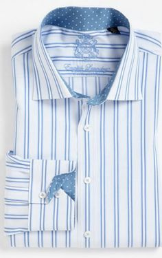 English Laundry's Trim Fit Dress Shirts are the perfect fit to show off your physique.    Shop English Laundry at Nordstrom. www.EnglishLaundry.com #EnglishLaundry #English #MensFashion #Nordstrom #Designer #FineAttire #Classy #SuitUp #Handsome #Fashion #Trendy