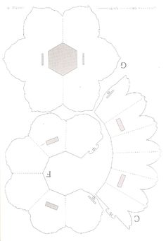 20+ Flower Petal Templates - PDF, Vector EPS   Pop up card ...