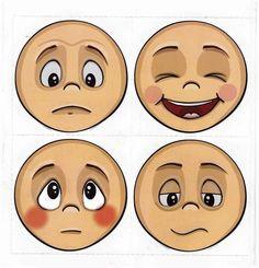 Emotions Preschool, Emotions Activities, Classroom Activities, Preschool Activities, Childhood Education, Kids Education, School Labels, English Fun, Feelings And Emotions