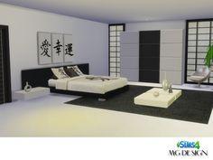 MISAKO BEDROOM  http://mgdesignsims4.blogspot.com.es/2015/08/misako-bedroom.html