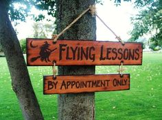 Flying Lessons!