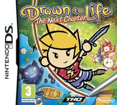 Drawn To Life: The Next Chapter (Ninendo DS) my child hood !