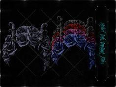 Instant Files Horns+ Roses ©DnZGraphic