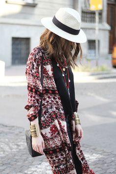Fashion and style: Printed kimono