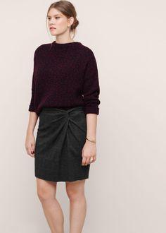 b4c8485605 Checked skirt - Plus sizes