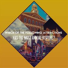 Which of the following attractions has the most annual visitors?  A) Las Vegas Strip, Nevada  B) Niagara Falls, NY & Ontario  C) Faneuil Hall, Boston D) Times Square, New York City