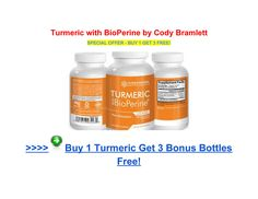 Cody Bramlett Turmeric with Bioperine Science Natural Supplements - Page 1 Online Reviews, Natural Supplements, Turmeric, Drink Bottles, Facts, Science, Drinks, Drinking, Beverages