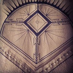 Three Arrows Leather. sneak peek of some new work