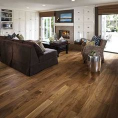 Kahrs Wood Flooring Distributors - Wood floors will be the healthful choice, they require fewer chemicals to clean than othe Walnut Wood Floors, Engineered Wood Floors, Hardwood Floors, Oak Flooring, American Walnut, Decorating On A Budget, Interior Decorating, Home Interior, New Homes