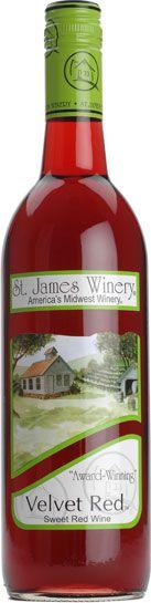 sweet missouri wine