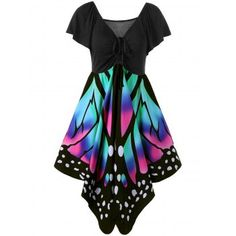 SHARE & Get it FREE | V Neck Butterfly Graphic DressFor Fashion Lovers only:80,000+ Items·FREE SHIPPING Join Dresslily: Get YOUR $50 NOW!