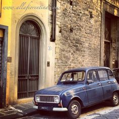 Renault 4, Florence Italy