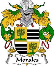 -Morales- Escudo de Armas Familiar                                                                                                                                                      Más