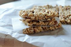 Coconut Almond Granola Bars {No Bake and Healthy}
