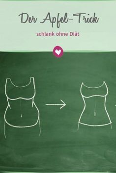 Get slim quickly without diet with the apple Schnell schlank ohne Diät mit dem Apfel-Trick With the apple trick, the pounds drop all by themselves. Fitness Workouts, Fitness Diet, Weight Gain, How To Lose Weight Fast, Weight Loss, Losing Weight, Loose Weight, Health Facts, Health Tips