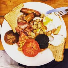 What kind of sausage is 'black pudding'? #trivia #quiz #pictureoftheday #quizquest #breakfast #irish #sausage #pudding #food #foodporn