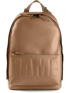 3.1 Phillip Lim 'name Drop' Backpack - O' - Farfetch.com