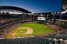 Chase Field- Arizona   Looks amazingly beautiful..maybe on my West Coast swing