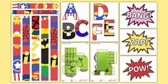 * NEW * Incredible Work Superhero Themed Display Pack New Classroom, Classroom Ideas, Classroom Organisation, Packing, Kids Rugs, The Incredibles, Display, Superhero, Learning