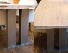 Eichentisch Athene Modern, Table, Furniture, Home Decor, Timber Wood, Food, Trendy Tree, Interior Design, Home Interior Design