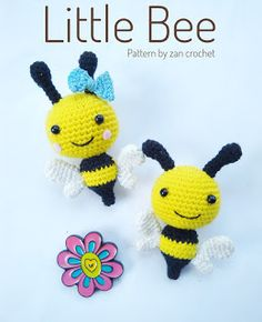 Little Bee ~ Zan Crochet