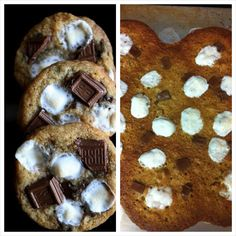 Pinterest Fail.. Smores Cookies