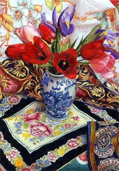 Art of Barbara Edidin Colored Pencil==gorgeous! Art Floral, Polychromos, Coloured Pencils, Color Pencil Art, Still Life Art, Painting & Drawing, Pencil Painting, Pastel, Watercolor Paintings