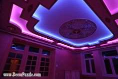 colored led lights strips, best ceiling design ideas 2016