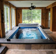 Amazing Small Indoor Pool Design Ideas 104 image is part of Amazing Small Indoor Swimming Pool Design Ideas gallery, you can read and see another amazing image Amazing Small Indoor Swimming Pool Design Ideas on website Small Swimming Pools, Small Pools, Swimming Pool Designs, Lap Swimming, Lap Pools, Pool Spa, Small Indoor Pool, Indoor Outdoor, Indoor Jacuzzi