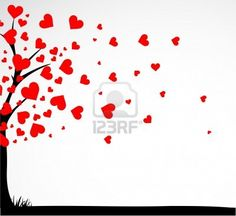 Tree with <3!!! Love is all around!