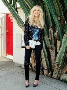 Amazing street style- Rachel Zoe