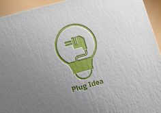 Logo Id :b175  This Logo light bulb with electric plug, Possible use for any creative businesses and products.  Graphics Files Included :   Vector EPS:Illustrator cs5,Illustrator 10  AI Illustrator : Illustrator cs5,Illustrator 10  .txt (links to the free fonts)  Minimum Adobe CS Version : CS  Logo Specifications:   Full vectors  100% editable and scalable  Editable colors  CMYK colors  Print ready