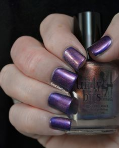 Emma's Little Corner: Swatches of Beauty UK Great Blue Beyond and how I wore it. With Girly Bits Shift Happens on top.