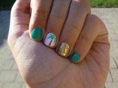 Nail ideas for the girls Love Nails, How To Do Nails, Fun Nails, Cute Nail Designs, Acrylic Nail Designs, Garra, French Acrylic Nails, Vacation Nails, Beach Nails
