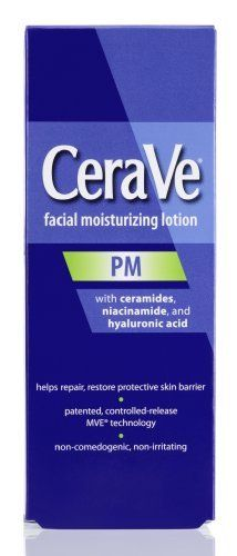CeraVe Facial Moisturizing Lotion PM -- 3 fl oz by CeraVe, http://www.amazon.com/dp/B00365DABC/ref=cm_sw_r_pi_dp_znWyrb1500YJY