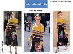 Misturar estampas e texturas está na moda! Confira mais detalhes no blog Universo da Moda & Cia.