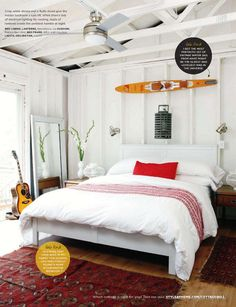 Style at Home Cottage Bedroom