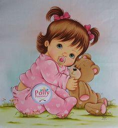 Nenhuma descrição de foto disponível. Image Panda, Panda Mignon, Quiet Book Templates, Boy Drawing, Beautiful Mehndi Design, Baby Embroidery, Sugar Art, Baby Prints, Doll Face